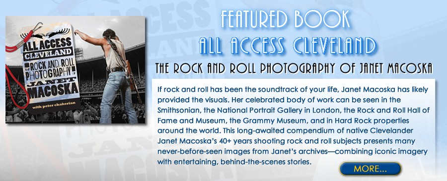 The Rock and Roll Photography of Janet Macoska